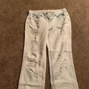 Bethany mota stone washed jeans (D179)